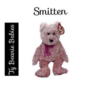 🔴 15/$25. Ty Beanie Babies ~ Smitten the Bear